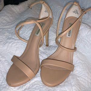 Steve Madden Nude Strappy heels 8